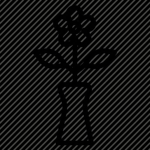 deco, flora, flower, gift, wedding icon