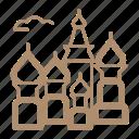 honeymoon, moscow, russia, wedding icon