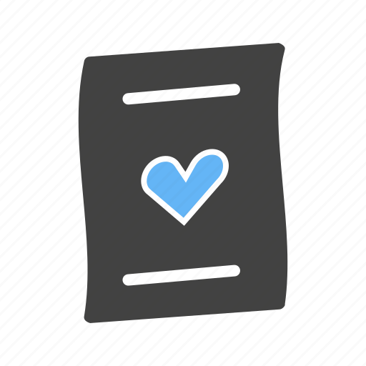 card, heart, holiday, letter, letters, love, valentine icon