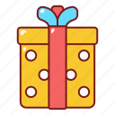 box, delivery, gift, package, present, wedding icon