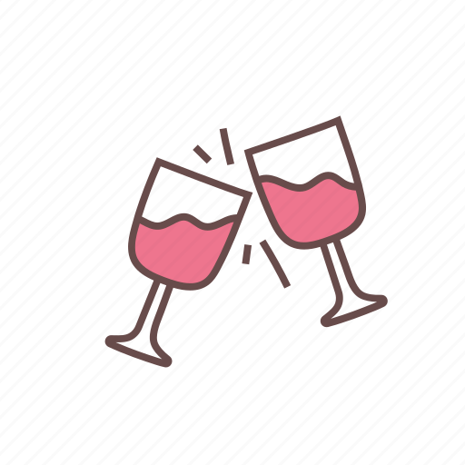 alcohol, bar, cheers, cocktail, drinking, glass, wine icon
