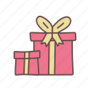 box, gift, love, present, romantic, valentine, wedding icon