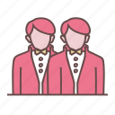 couple, engaged, engagement, groom, marriage, partner, wedding icon