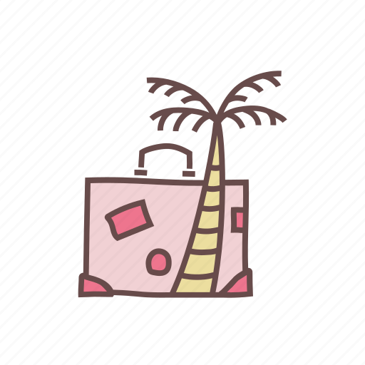 beach, celebration, holiday, honeymoon, summer, travel, vacation icon