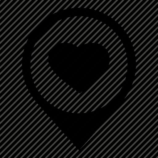 location, map marker, valentine, wedding day, wewdding location icon