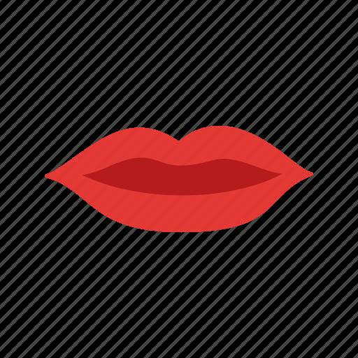 beautiful, beauty, body, kiss, lips, lipstick, red icon