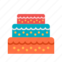 beautiful, cake, decoration, design, icing, style, wedding