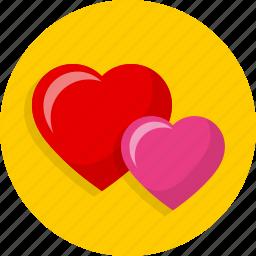happy, heart, love, passion, romantic, sweet, wedding icon