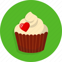 cake, heart, love, sweet, valentine, wedding icon