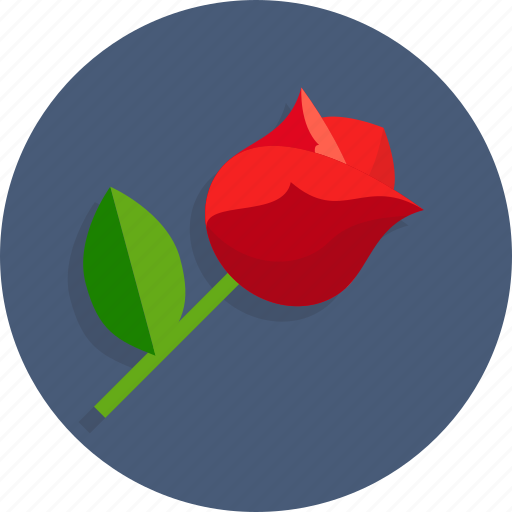 flower, happy, heart, love, romantic, rose, wedding icon