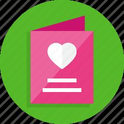 card, church, happy, invitation, menu, wedding icon