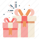 birthday, box, celebration, gift, present, surprise icon