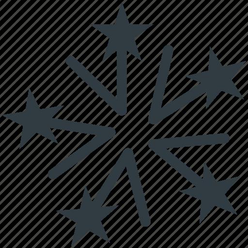 Christmas snowflake, snowflake, snowflake ornament, snowing flake, winter decoration icon - Download on Iconfinder