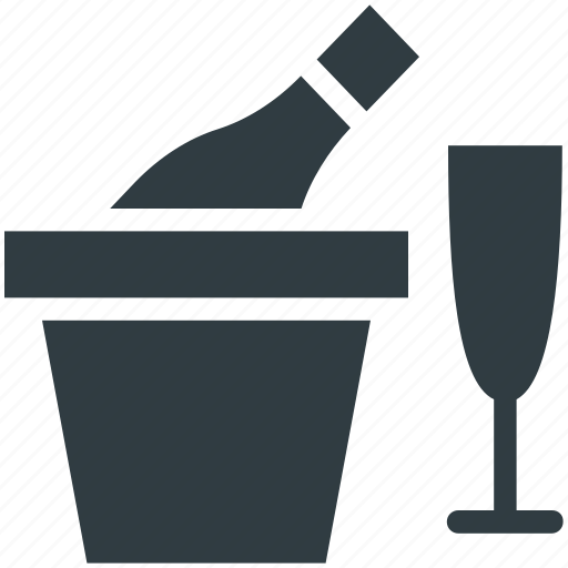 alcohol, beer bucket, bottle, drink, glass icon