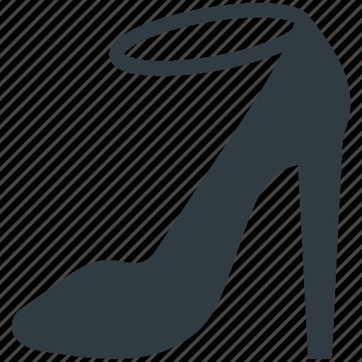 heel sandal, high heel, ladies sandal, strap sandal, summer sandal icon