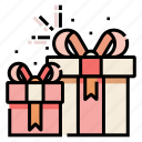 birthday, gift, gift box, greeting, present, surprise icon