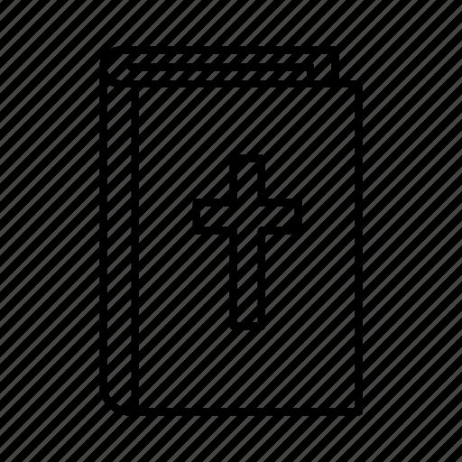 bible, church, wedding icon