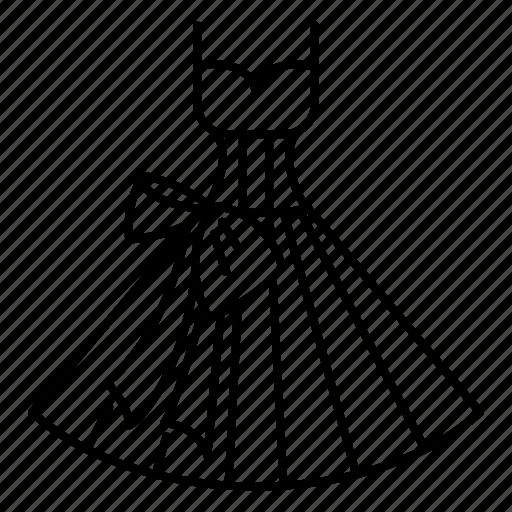 bride, dress, lace, shopping, wedding, wedding dress icon