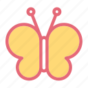 butterfly, love, mariposa, monarch, moth, pink, wedding icon