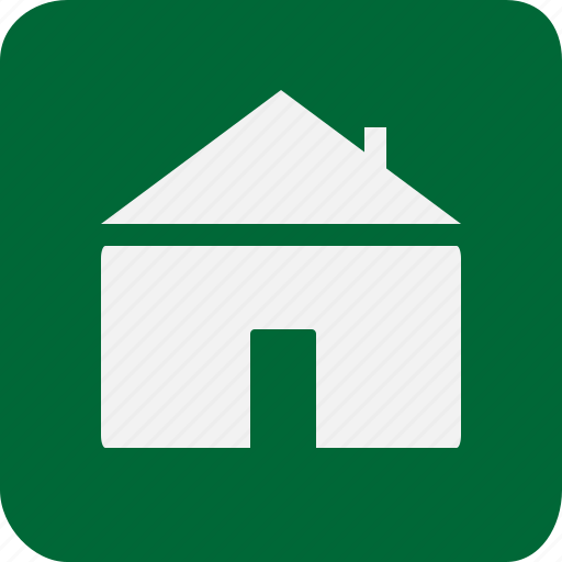 green, home, house, hut, life icon