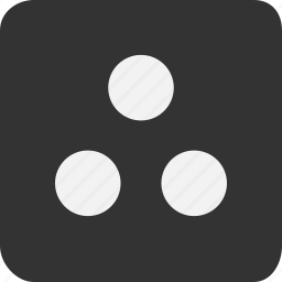 balls, dots, etc, imagination, therefore, three icon