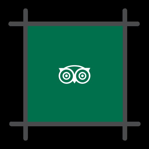 local, review, tour, tourist, travel, tripadvisor icon