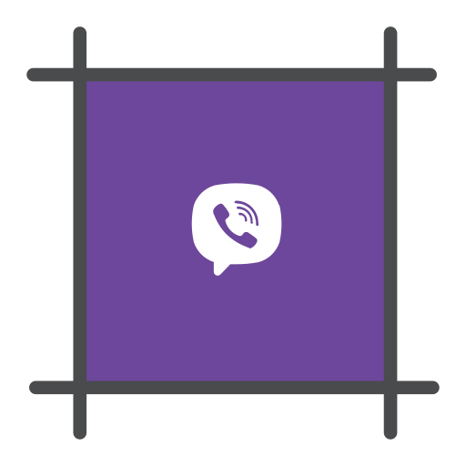 chat, free message, messanging, social, viber icon