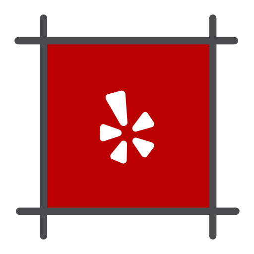food review, hotel, local, review, yelp icon