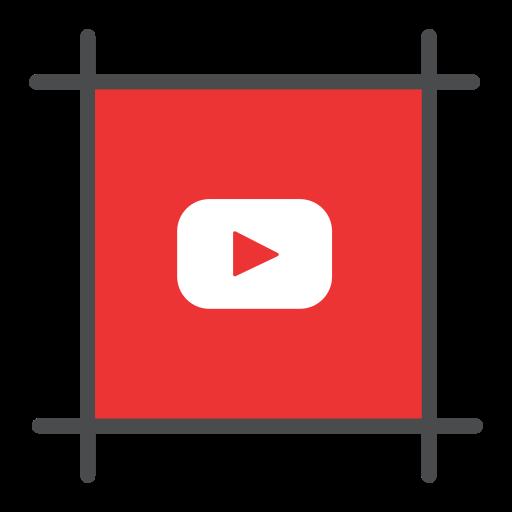 social, tube, utube, video, youtube, youtuber icon