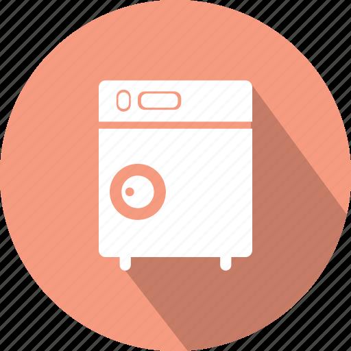 cleaner, clothes cleaner, clothing, wash, washing, washing machine icon