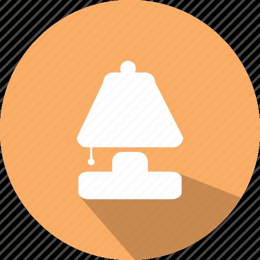 bedroom, bedroom light, desktop lamp, lamp, light icon