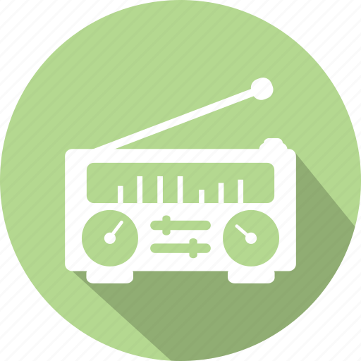 channels, fm, listen, media, radio, radio machine, radion icon icon