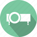 cinema, film, movie, projection, slideshow, watch icon