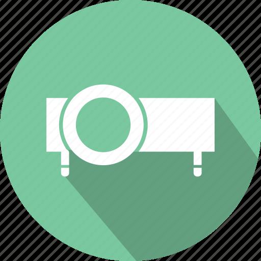 cinema, film, movie, projection, slideshow, watch icon