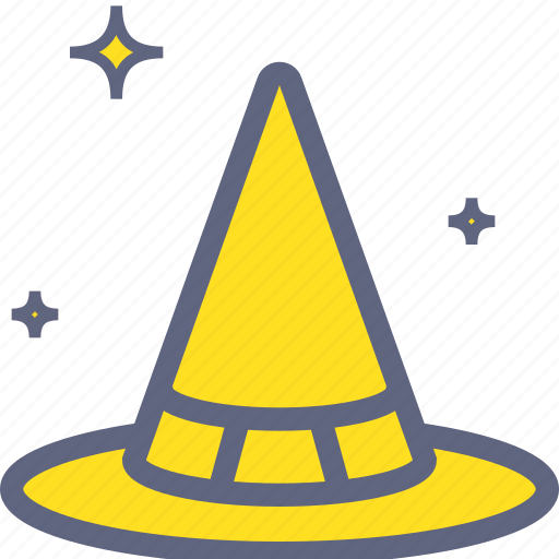hat, warlock, witch, wizard icon