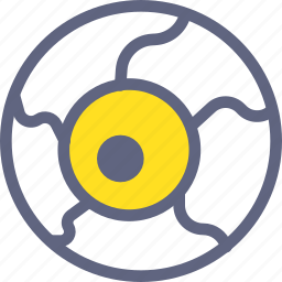 eye, eyeball, look, search, vision icon