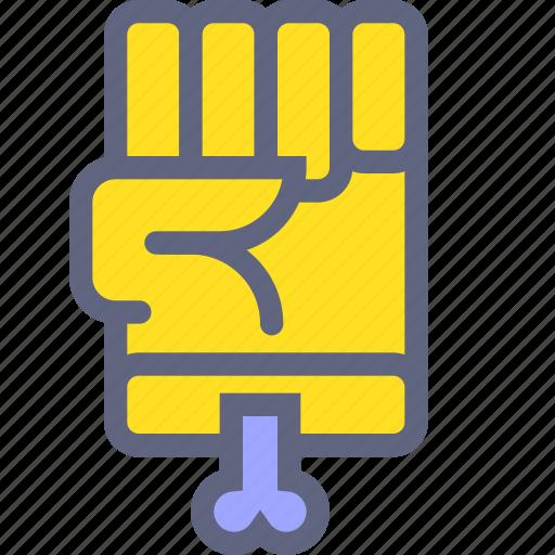 dead, fist, hand, zombie icon