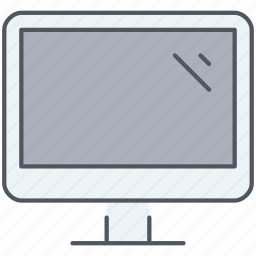 computer, desktop, devices, electronics, machine, technology icon