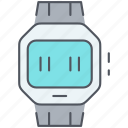 device, digital, electronics, smart watch, technology, watch icon