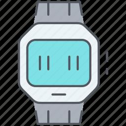 device, digital, electronics, smart watch, technology, watch icon