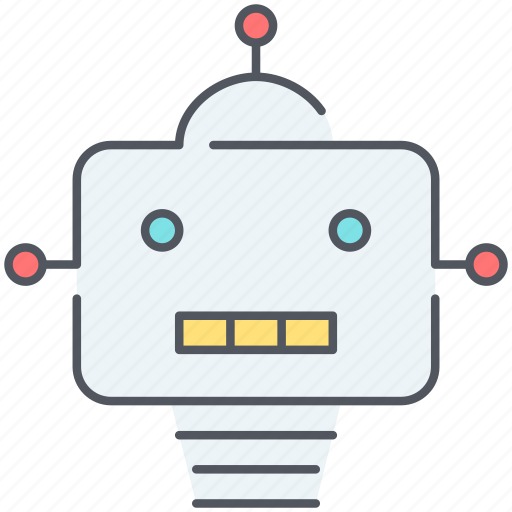 android, automation, electronics, robot, robotics, technology icon