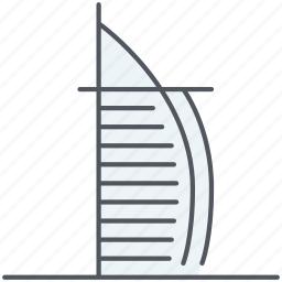 arabit, burj al arab, dubai, emirates, hotel, monument, uae icon