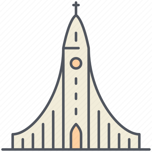 church, hallgrimur, historical, iceland, landmark, monument, reykjavik icon
