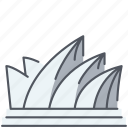 australia, historical, landmark, modern, monument, opera house, sidney icon
