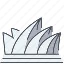 australia, historical, landmark, modern, monument, opera house, sidney