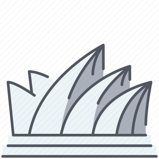 australia, historical, landmark, modern, monument, opera house, sidney icon