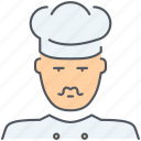 chief, cooking, cuisine, food, gastronomy, kitchen, restaurant icon