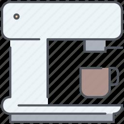 appliance, cappuccino, coffee, espresso, kitchen, macchiato, machine icon