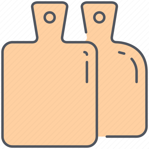 boards, cooking, cookware, cutterboards, cutting, equipment, kitchen icon
