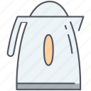 appliance, boiler, instant, kettle, kitchen, tea, water icon